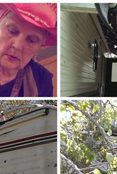 "Jane ""Janie"" Austin, RV damage"