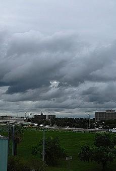 Storms pounded San Antonio again last night.