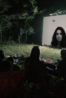 A screening of a Laura Vasquez film.