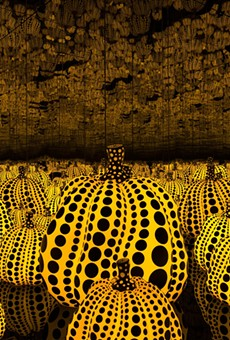 Yayoi Kusama, All the Eternal Love I Have for the Pumpkins, 2016