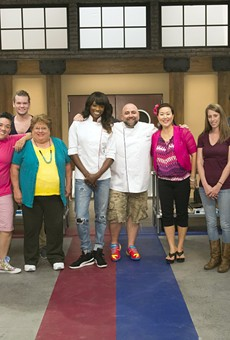 The cast of the new Food Network reality series Worst Bakers in America hope to not burn down the kitchen when the show debuts Oct. 2.