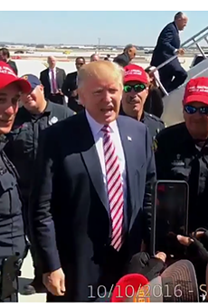 """Trump Says Mayor Taylor Should Be """"Ashamed Of Herself"""" For Reprimanding Officers in Trump Hats"""