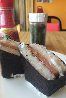 Spam musubi ($2.99)