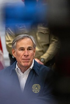 Gov. Greg Abbott spoke at a Saturday press conference regarding Texas' emergency response to a winter storm gripping Texas.