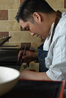 Noodle Tree chef Mike Nguyen will continue to require masks at his UTSA-area eatery.