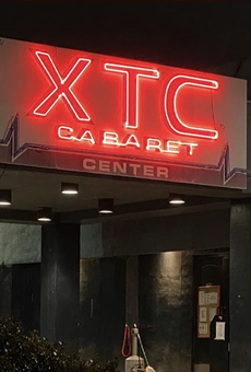 A state district judge has denied the city's request to shutter XTC Cabaret.