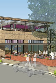 A rendering of the new Rosario's at 722 S. St. Mary's St.