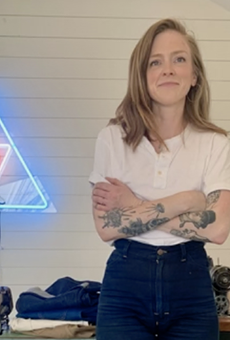 Marielle La Rue started her niche denim line to fulfill a wish for pants that fit her body type