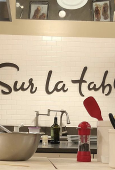 La Cantera cookware retailer Sur La Table will offer a new series of cooking classes.