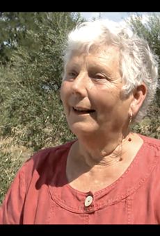 San Antonio native Saundra Winokur, a pioneer of Texas' olive industry, and has died.