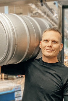 Master Brewer Chris Shelton oversees brewery operations.