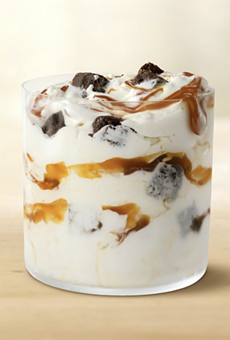 McDonald's has announced a new, limited-time Caramel Brownie McFlurry.