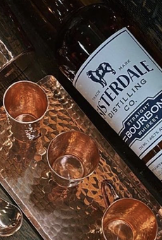 Sisterdale Distilling Co.'s Straight Bourbon Whiskey is available now at local Twin Liquors locations.