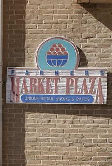 The Farmers Market Plaza Building is home to artisan vendors.