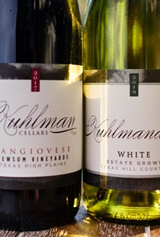 Two of Fredericksburg's Kuhlman Cellars wines won big in renowned French wine competition.