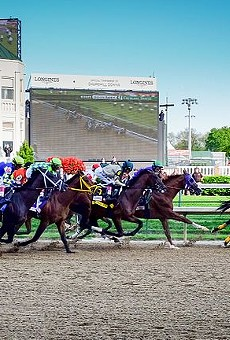 The Kentucky Derby is slated for May 1.