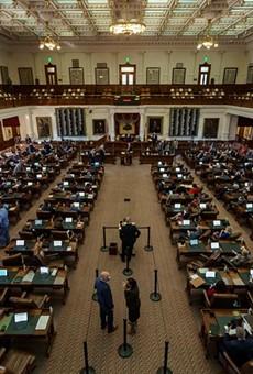 The Texas House of Representatives on January 13.