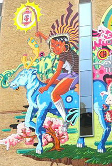 San Antonio's 'The Last Parade' mural honors indigenous cultures, underground artists