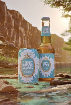 Lone Star Beer debuted its new Rio Jade Mexican-style lager last summer.