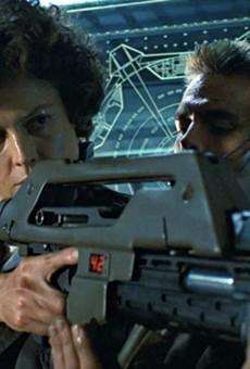 Lt. Ellen Ripley faces off against the xenomorphs again in James Cameron's Aliens.