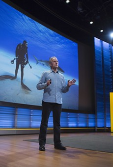 The Nat Geo Live talks series is returning to the Tobin Center this fall.