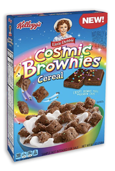 Little Debbie Cosmic Brownies Cereal is now a real thing.