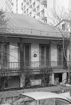 The Dashiell House, as it appeared in a vintage photo.