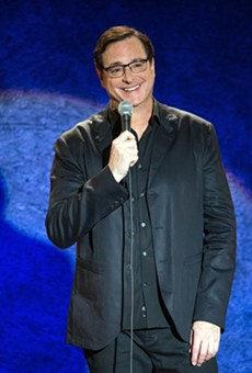 Comedian and actor Bob Saget is performing two shows on Sunday in San Antonio.