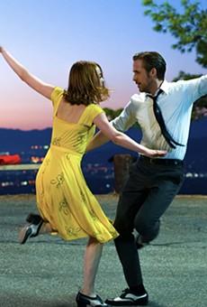 La La Land is one of three movies screening in San Antonio on Tuesday.