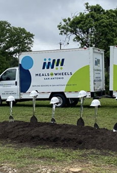 LPA Design Studios shared images of the groundbreaking event for the new Meals on Wheels San Antonio facility.