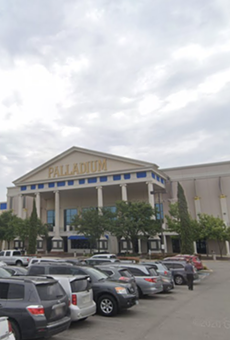 A woman was stabbed while leaving SA's Palladium movie theater.