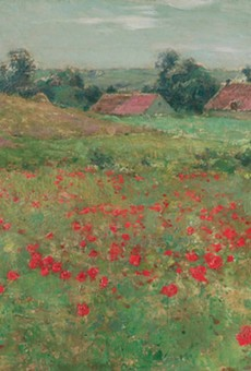 Willard Metcalf's Poppy Field (Landscape at Giverny)