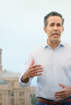 George P. Bush talks up his Trumpiness in his first campaign video.