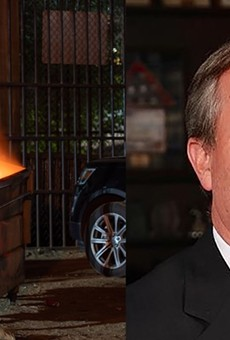 Can you tell the difference? An dumpster fire is running against to unseat current Texas AG Ken Paxton, who's turned his office into a dumpster fire.