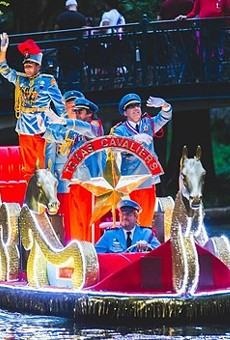The Texas Cavaliers parade returns to the river on June 21.