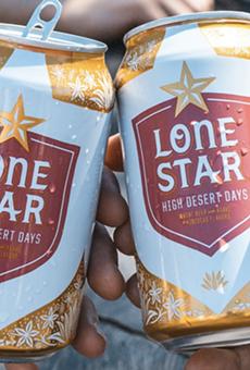 Lone Star Beer's latest release, High Desert Days.