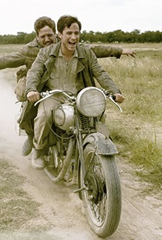 Slab Cinema will screen The Motorcycle Diaries at Legacy Park on Tuesday.
