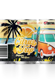 San Antonio's Freetail Brewing Co. was recognized for the can design of its Citrus Trip Belgian wit.