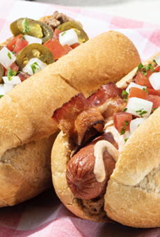 San Antonio-based Taco Cabana will offer two Sonoran hot dogs during Independence Day weekend.