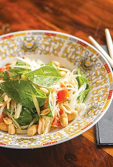 The Umai Mi pop-up will feature a version of Dady's storied green papaya salad.