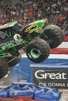 The Alamodome will be taken over by monster trucks this Fourth of July weekend.