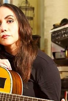 Nina Diaz of San Antonio's Girl in a Coma lends vocals to Elvis Costello's new Spanish Model LP