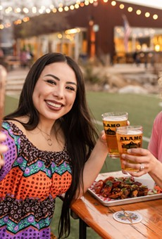 Alamo Beer's Manis + Miches event takes place Sunday.