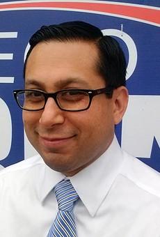 State Rep. Diego Bernal is a Democrat representing San Antonio.