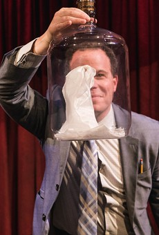 Comedy magician Matt Marcy is putting on the ritz at The Magicians Agency this weekend.