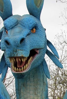 San Antonio Zoo introducing themed days to its Dragon Forest, tying in movies, other pop culture