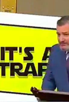 Ted Cruz calls infrastructure bill 'reckless' days after he pushed to include a pet highway project in it