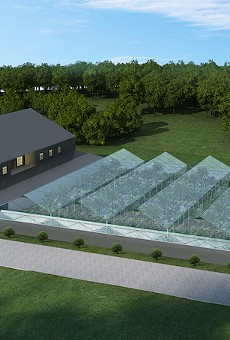 This rendering shows the growing facility Texas Original Compassionate Cultivation is building in Central Texas.
