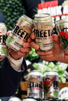 Freetail's newest Conserveza cans feature the Texas horned lizard.