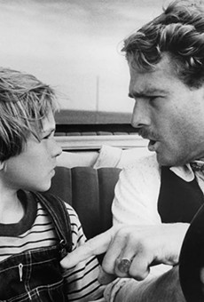 Tatum O'Neal (left) became the youngest person to win an Oscar in a competitive category for her performance in Paper Moon.